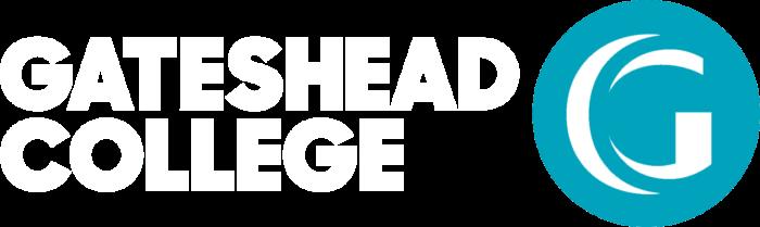 Gateshead College Logo White