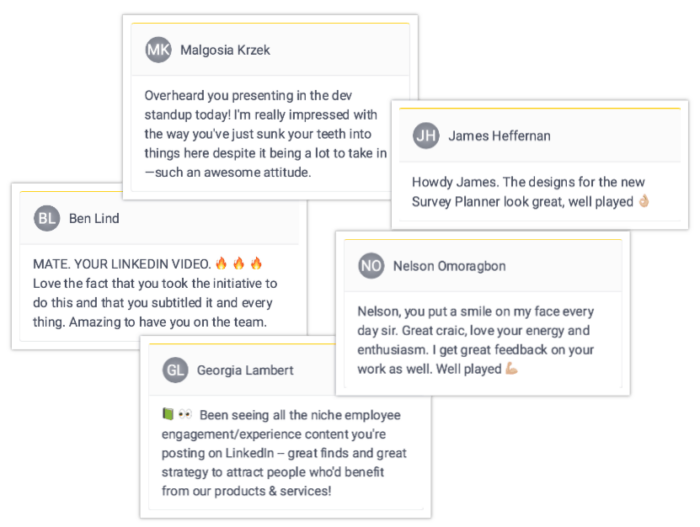 Employee Spotlight Hive Five Collage