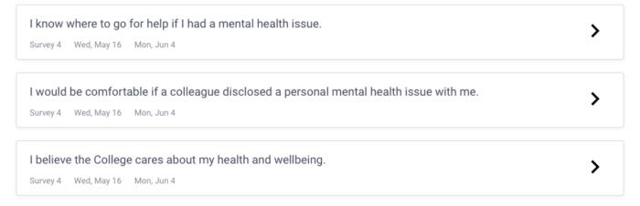 Mental Health Survey Questions