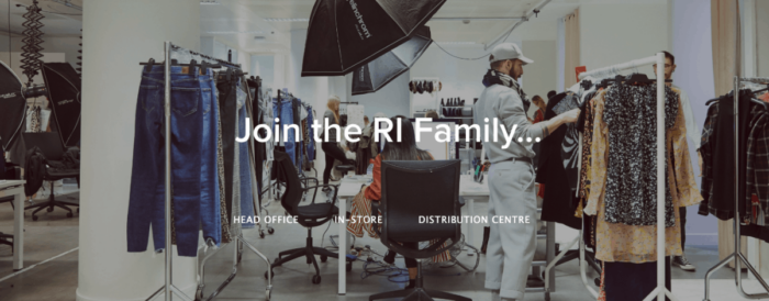 Join the River Island Family